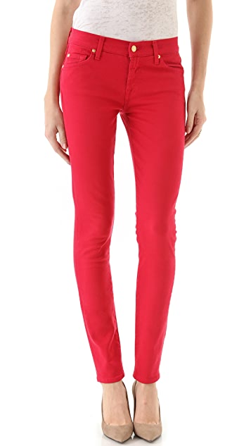 90269d49c9b68d 7 For All Mankind The Slim Illusion Skinny Jeans | SHOPBOP
