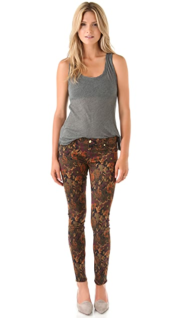 7 For All Mankind The Skinny Wildflower Jeans