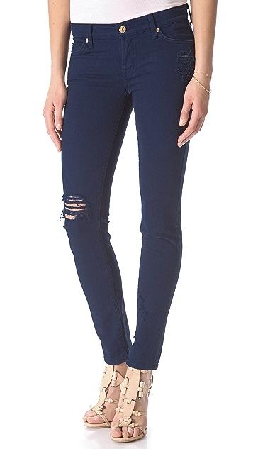 7 For All Mankind Slim Cigarette Jeans