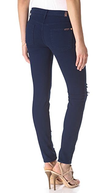7 For All Mankind Slim Cigarette Jeans