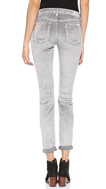 7 For All Mankind The Skinny Mineral Corduroy Pants