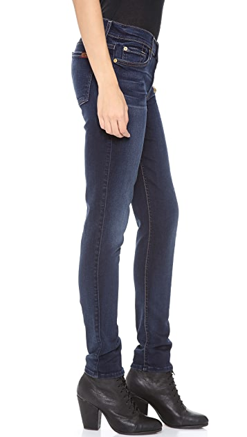 7 For All Mankind The Slim Illusion Cigarette Jeans