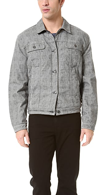 7 For All Mankind Reversible Jean Jacket
