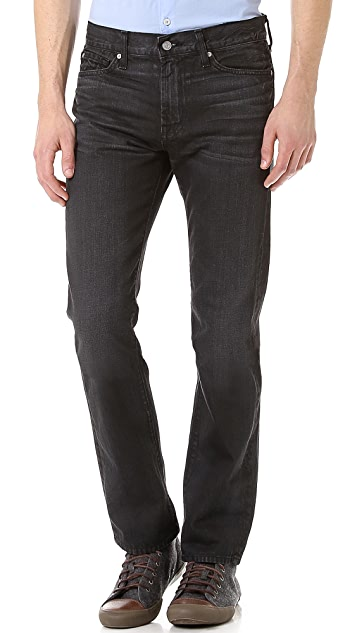 7 For All Mankind Slim Straight Fit Jeans