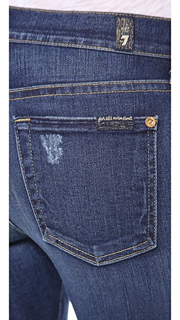 7 For All Mankind The Skinny Boot Cut Jeans