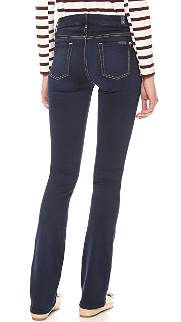 7 For All Mankind The Skinny Boot Cut Slim Illusion Jeans