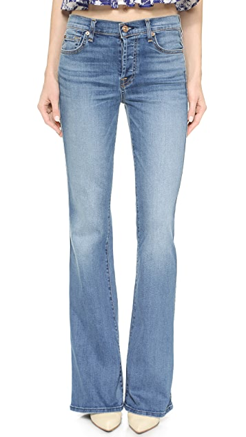 7 For All Mankind High Waisted Vintage Flare Jeans