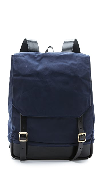 Southern Field Industries Waxed Canvas Rucksack