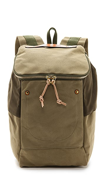 Southern Field Industries Waxed Canvas PX Backpack