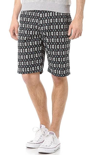 Shades of Grey by Micah Cohen Flat Front Shorts