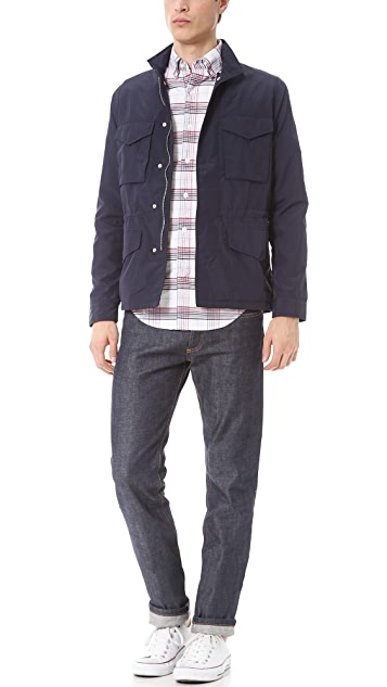 Shades of Grey by Micah Cohen Plaid Button Down Shirt