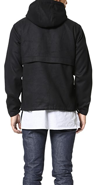 Shades of Grey by Micah Cohen Shirttail Hem Anorak