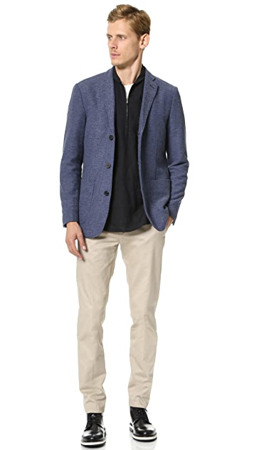 Shades of Grey by Micah Cohen Knit Blazer