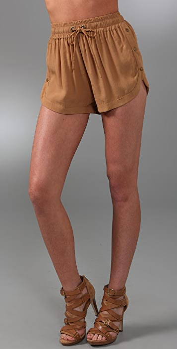 Shakuhachi Utility Snap Shorts