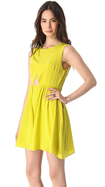 Shakuhachi Petal Party Dress