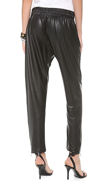 Shakuhachi Coated Track Pants