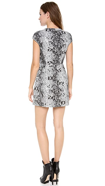 Shakuhachi Serpent Lace Aline Dress