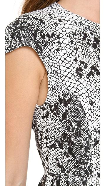 Shakuhachi Serpent Lace Aline Dress