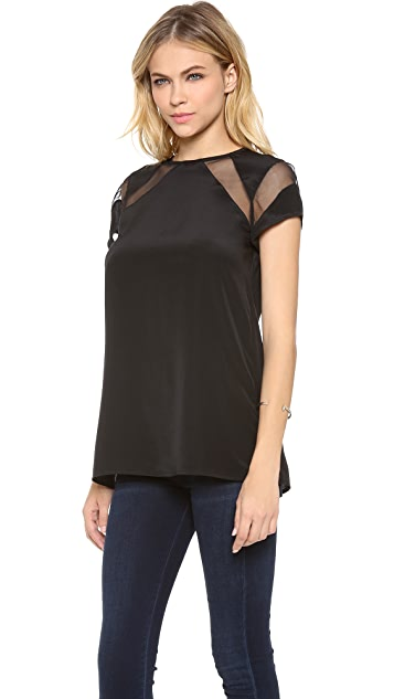 Shakuhachi Floating Panel Tee Top