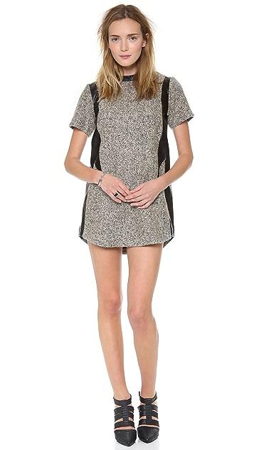 Shakuhachi Tweed Shift Dress