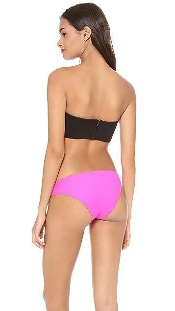 Shakuhachi Neo Minimal Bustier Bikini Top