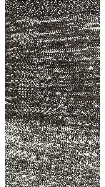 Shakuhachi Gradient Knit Pencil Skirt