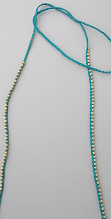 Shashi Golden Nugget Necklace