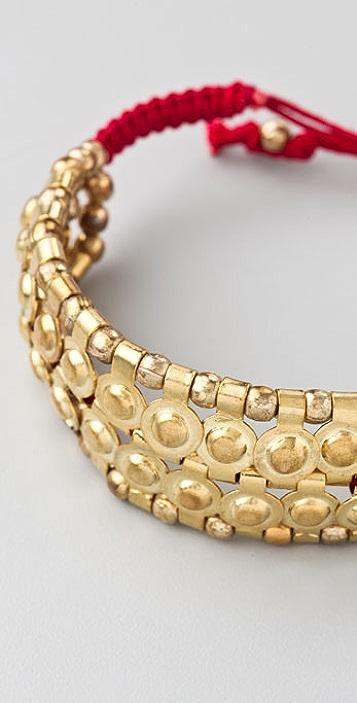 Shashi Futuristic Double Row Shashi Bracelet