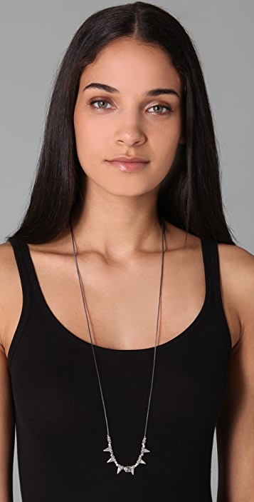 Shashi Tessa Skull Necklace