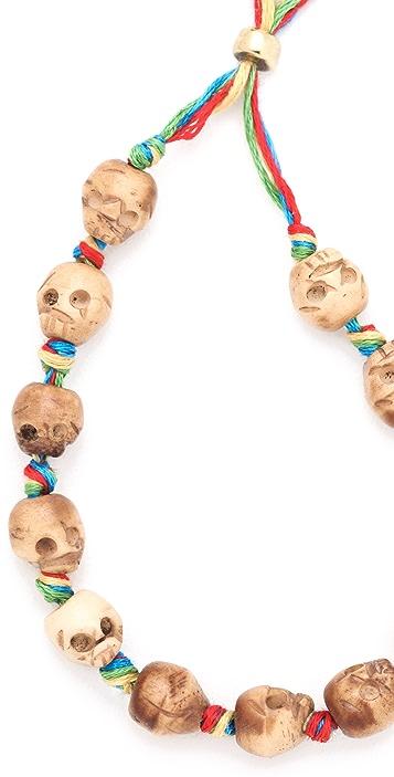 Shashi Rosanna Skull Bracelet