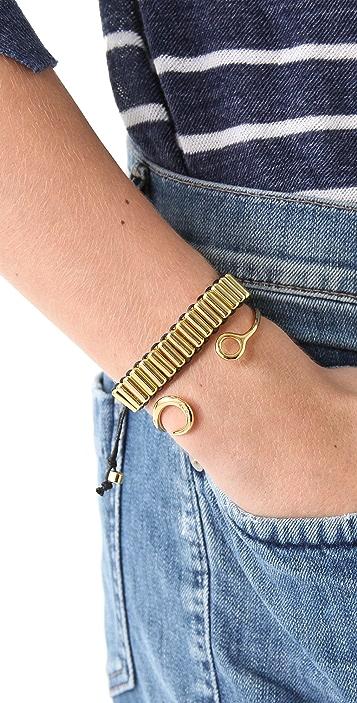 Shashi MIlitary Single Row Bracelet