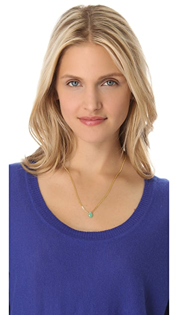 Shashi Gemstone Drop Necklace