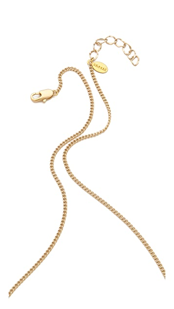 Shashi Carlita Bar Necklace