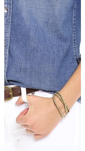 Shashi Nugget Wrap Bracelet