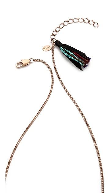 Shashi Horn Necklace