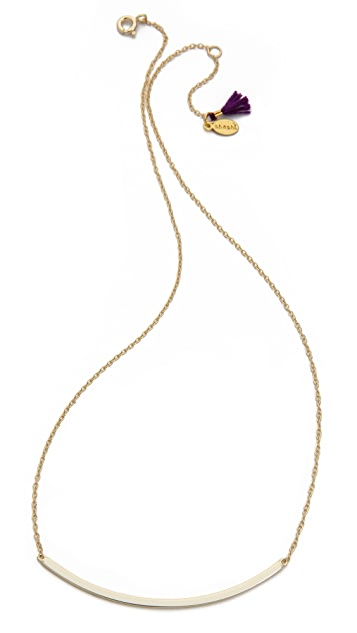 Shashi Large Bar Necklace