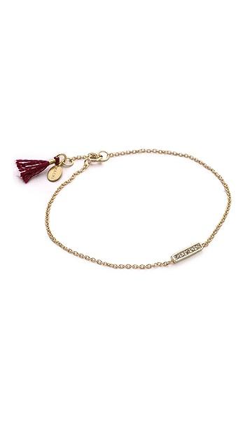 Shashi Tracey Bar Bracelet