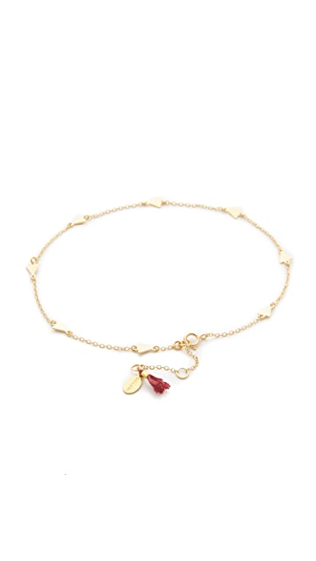 Shashi Multi Arrow Anklet