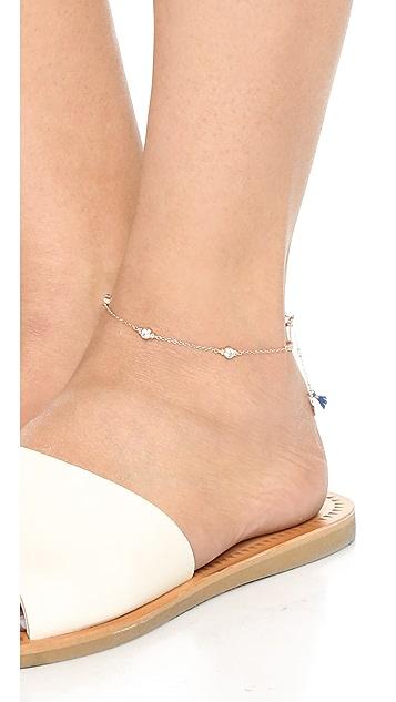 Shashi Ballerina Chain Anklet