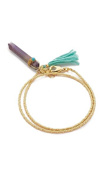 Shashi Закрученный браслет Celeste