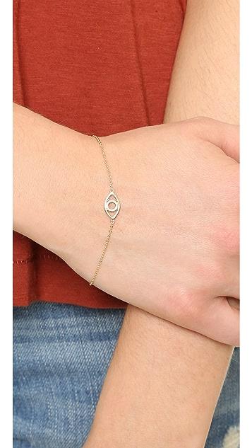 Shashi Open Evil Eye Bracelet