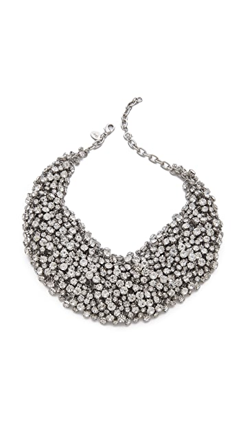 Shay Crystal Bib Necklace