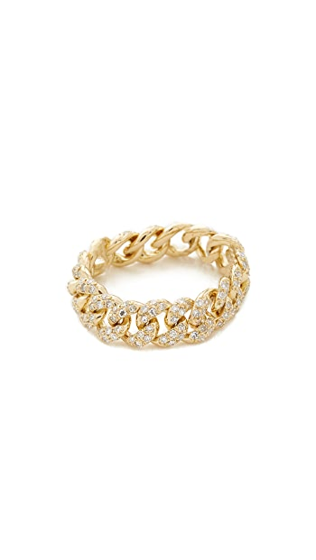 SHAY 18k Gold Essential Link Ring - Yellow Gold