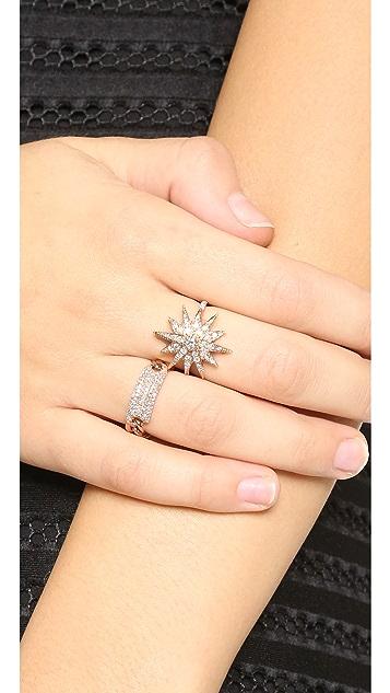 Shay 14k Gold Starburst Ring