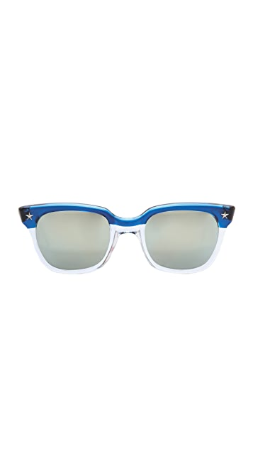 Sheriff&Cherry Americana Mirrored Sunglasses