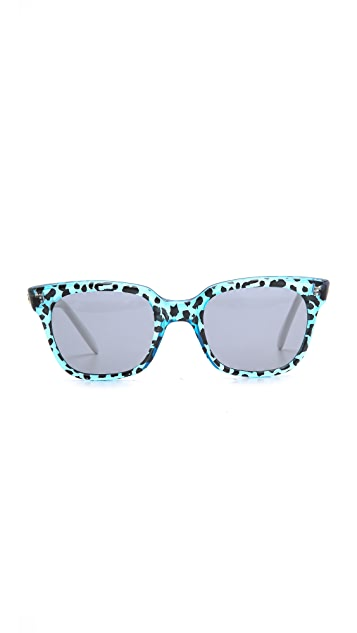 Sheriff&Cherry Tritone Wild Cat Sunglasses