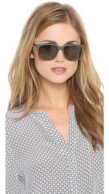 Sheriff&Cherry G12 Lux Mat Army Sunglasses