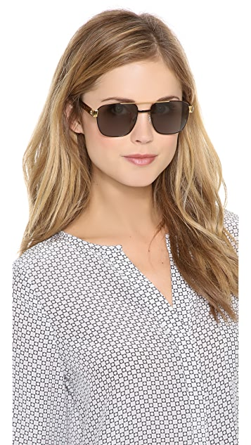 Sheriff&Cherry G1 Jungle Square Honey Sunglasses