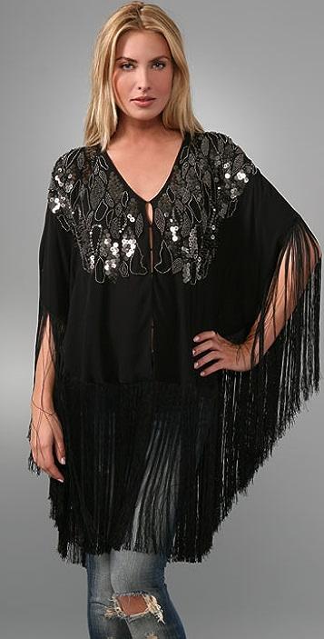 Sheri Bodell Black Widow Shawl