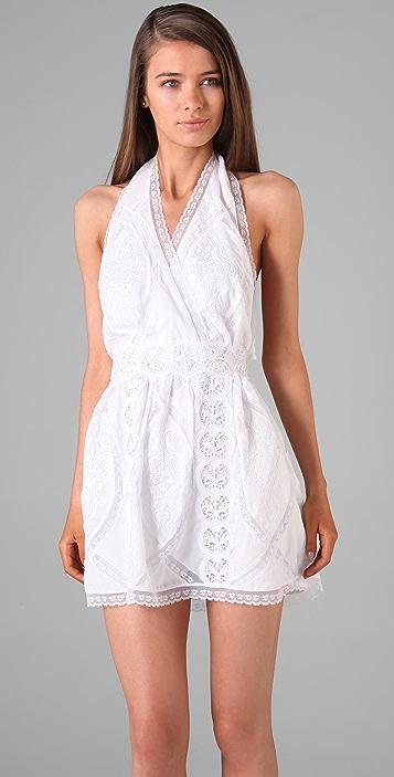Sheri Bodell Peasant Halter Dress